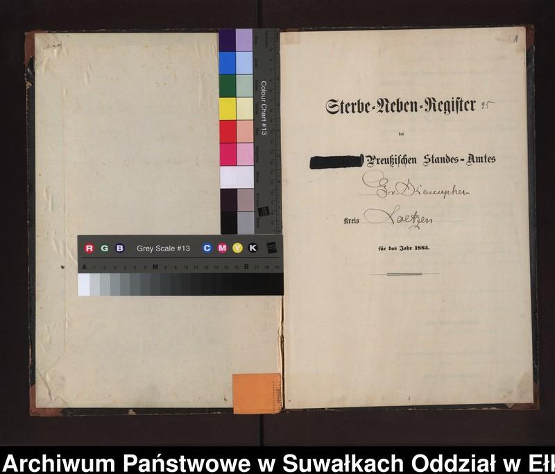 """image.from.unit """"Sterbe-Neben-Register des Preussischen Standes-Amtes Gr. Konopken Kreis Loetzen"""""""