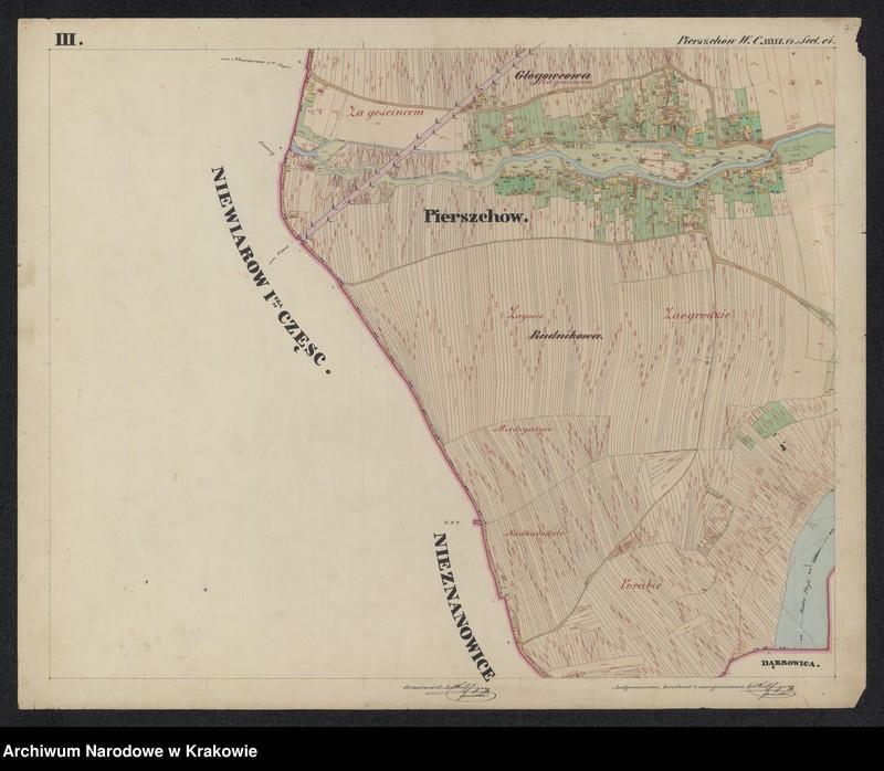 """Obraz 6 z jednostki """"217 Dorf Pierszchów [Pierzchów] sammt Enclave Pierszchowiec [Pierzchowiec] in Galizien Bochnier Kreis"""""""