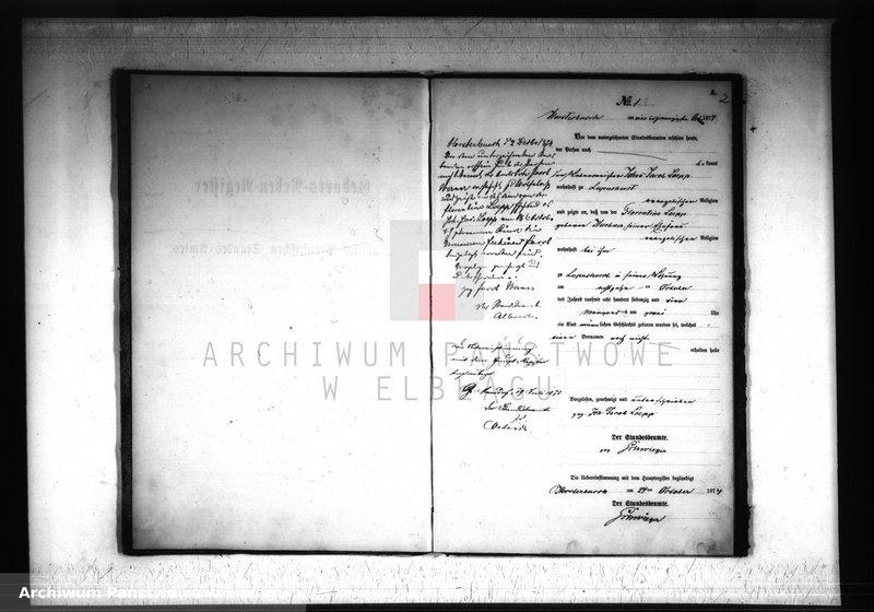 """Obraz z jednostki """"Księga urodzeń 1874 rok"""""""