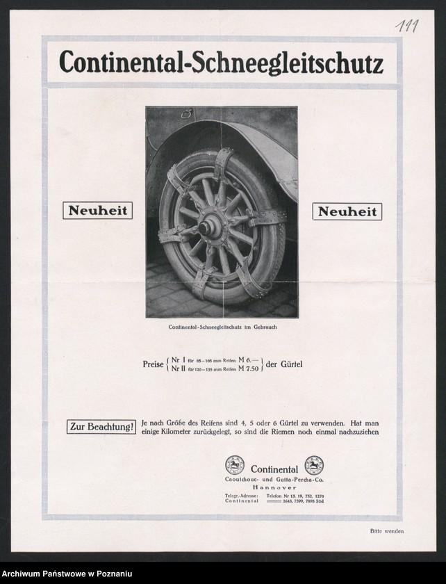 """Obraz 6 z kolekcji """"Automobile - prospekty reklamowe z początku XX wieku"""""""