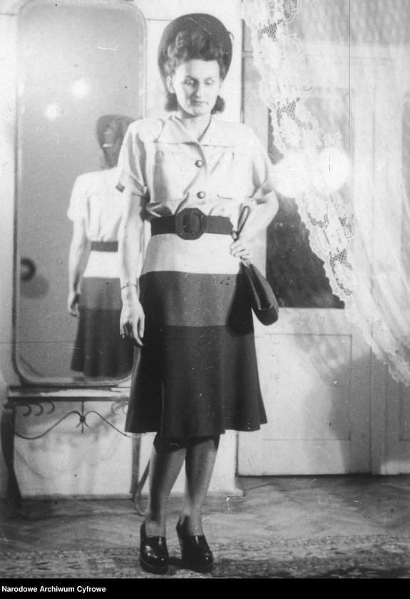 """Obraz 16 z kolekcji """"Moda damska lata 1940"""""""