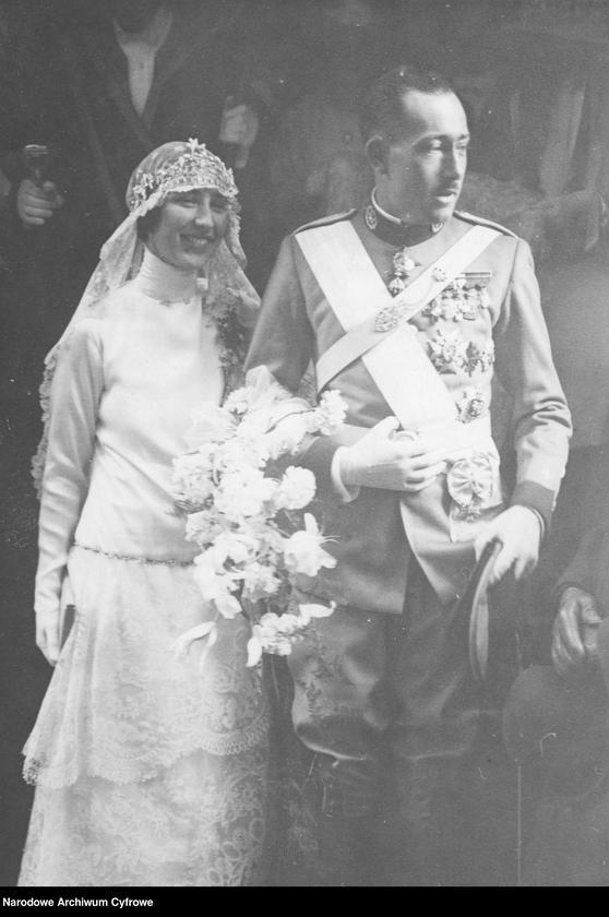 """Obraz 1 z jednostki """"Ślub księżniczki Małgorzaty Czartoryskiej z księciem Obojga Sycylii Gabrielem Bourbon"""""""