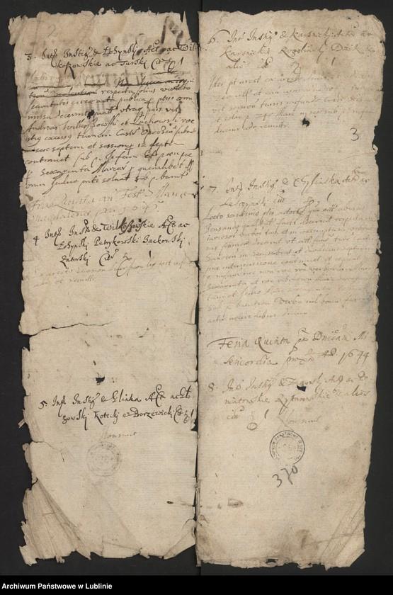 """Obraz z jednostki """"Aresta Causarum Conseratarum & Recentium Criminum Anni Dni 1644"""""""