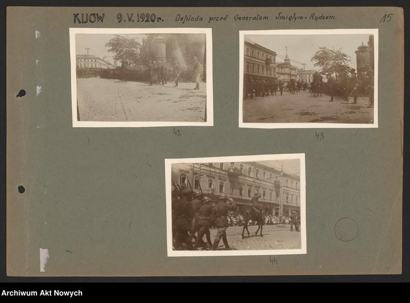 """Obraz 9 z kolekcji """"Wojna polsko-bolszewicka w dokumencie i fotografii"""""""