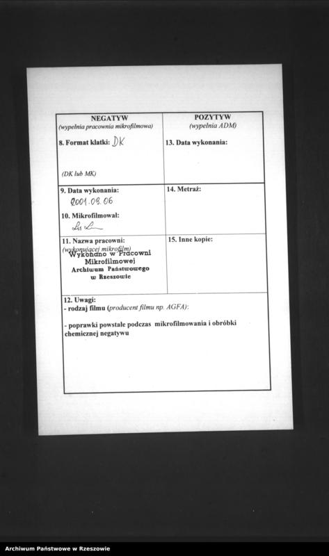 """Obraz z jednostki """"Duplikat księgi urodzin izraelickiego okręgu metrykalnego w Niebylcu"""""""