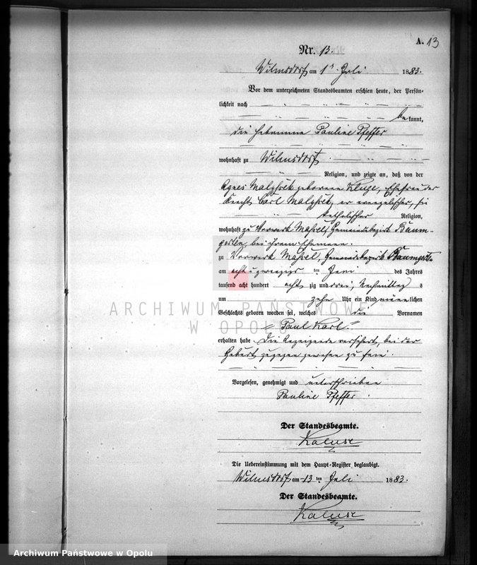 """image.from.unit.number """"Urodzenia Dobiercice 1883"""""""