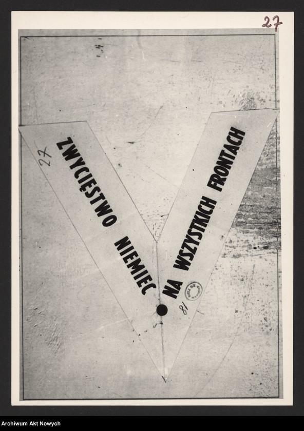 """Obraz 8 z kolekcji """"Propaganda niemiecka z okresu II wojny światowej."""""""
