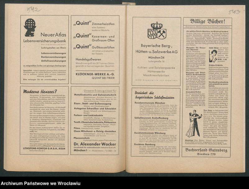 """Obraz 14 z kolekcji """"Reklamy znanych marek w roczniku """"Unsere Saar"""" z 1935 roku"""""""
