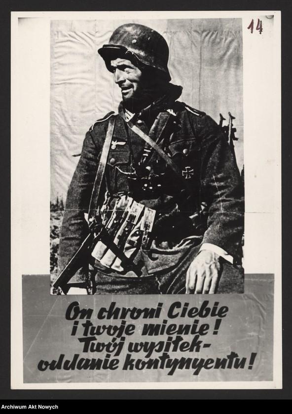 """Obraz 6 z kolekcji """"Propaganda niemiecka z okresu II wojny światowej."""""""
