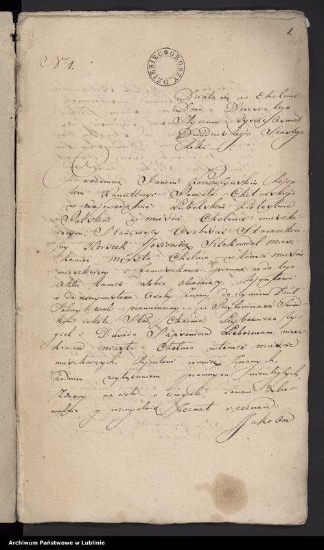 """Obraz z jednostki """"[Księga aktów notarialnych]"""""""