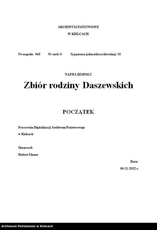 """Obraz z jednostki """"Wspomnienia Stanisławy Olędzkiej-Daszewskiej"""""""