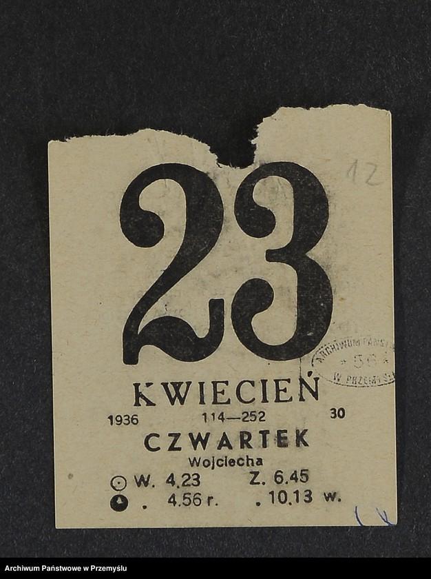 """Obraz 4 z kolekcji """"Kartka kalendarza - przepisy kulinarne"""""""