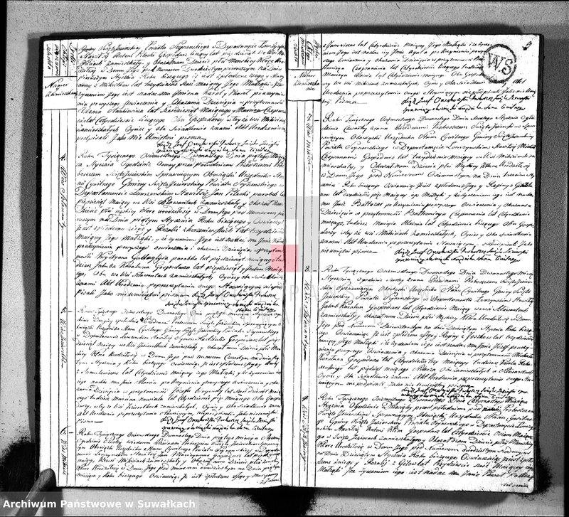 """image.from.unit """"Akta urodzonych gminy święto-jeziorskiey od 1-go stycznia 1812"""""""