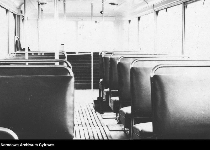 """Obraz 7 z jednostki """"Zajezdnia dla trolejbusów francuskich i radzieckich przy ulicy Myśliwieckiej w Warszawie"""""""