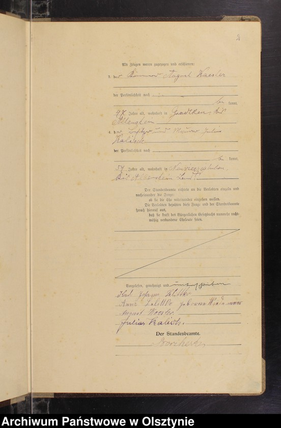 "Obraz z jednostki ""Heirats-Haupt-Register Nr 8-16, 1-13, 1-8, 1-17"""