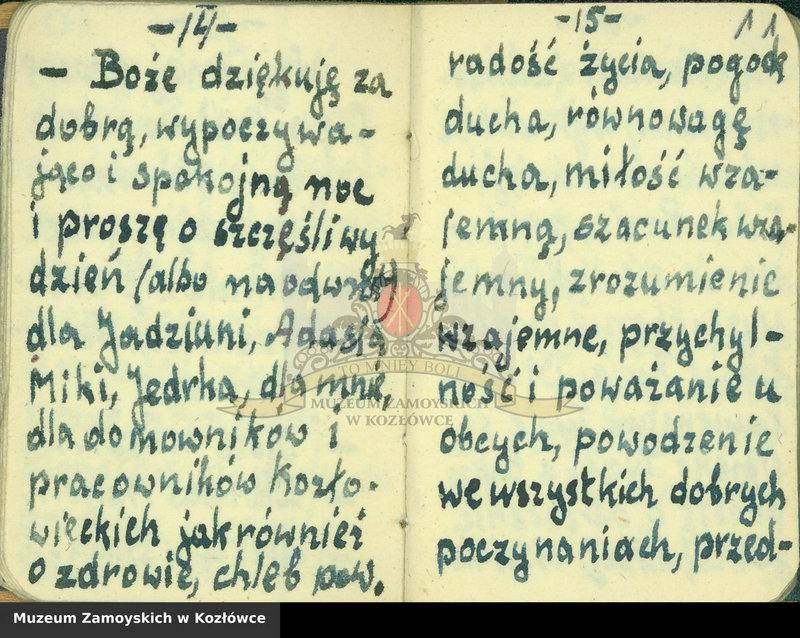 """Obraz 2 z kolekcji """"Modlitewnik z Dachau Aleksandra Zamoyskiego"""""""
