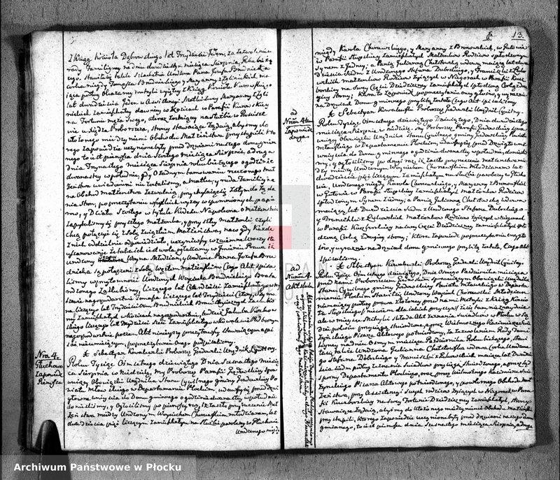 """Obraz 16 z jednostki """"Akta urodzeń, małżeństw i zgonów"""""""