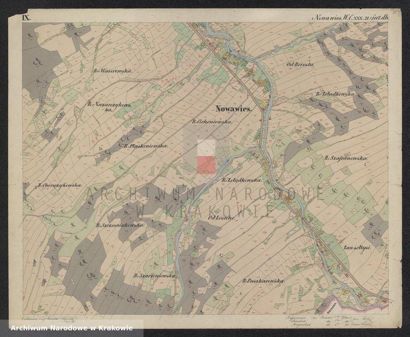 """Obraz 13 z jednostki """"216 Dorf Nowa Wieś in Galizien Sandecer Kreis"""""""