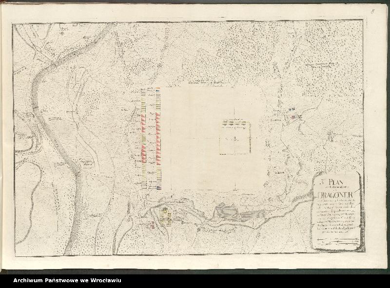 """Obraz 3 z kolekcji """"Obóz wojsk polskich i saksońskich pod Radewitz, 1730"""""""