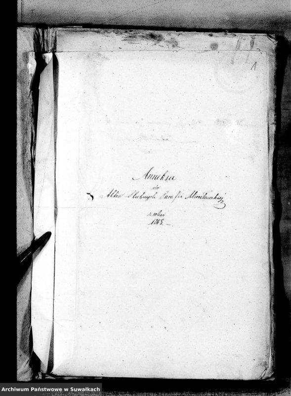 """image.from.unit """"Anneksa Aktów Ślubnych Parafii Mirosławskiej z roku 1868"""""""