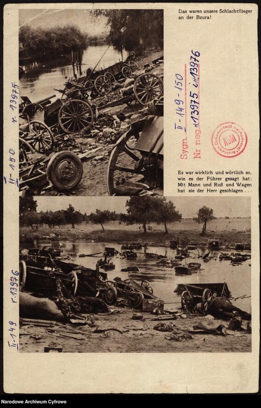 """Obraz 1 z jednostki """"Bitwa nad Bzurą"""""""