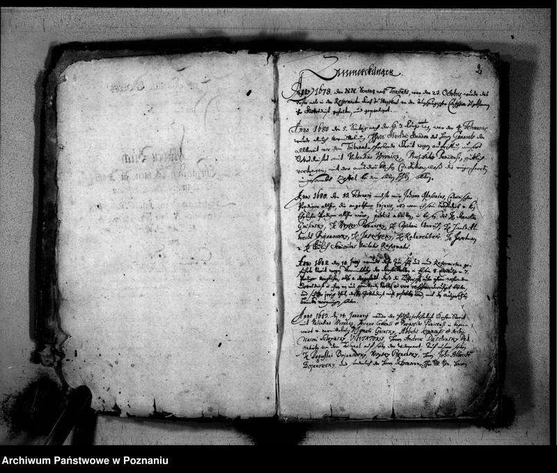 """Obraz z jednostki """"Kirchenbuch der Taufen, Traungen, Verstorbenen"""""""