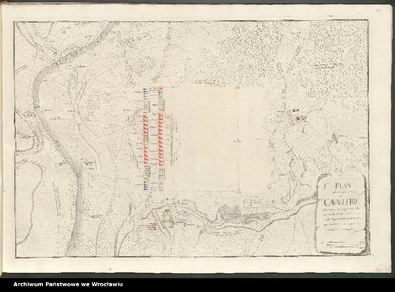 """Obraz 7 z kolekcji """"Obóz wojsk polskich i saksońskich pod Radewitz, 1730"""""""