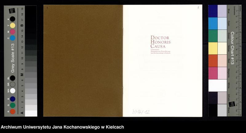 """Obraz 13 z kolekcji """"Pamięci Poety - Doktorat Honoris Causa dla Tadeusza Różewicza"""""""