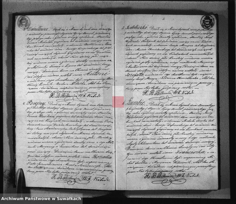 """image.from.unit """"Duplikat urodzonych, zaślubionych i umarłych parafii sejneńskiej z roku 1855"""""""