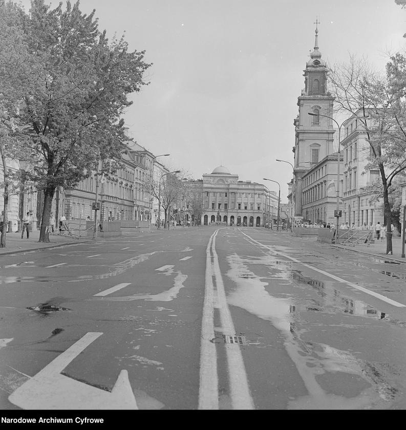 """Obraz z jednostki """"Warszawa podczas I pielgrzymki papieża Jana Pawła II do Polski"""""""
