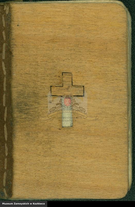 """Obraz 1 z kolekcji """"Modlitewnik z Dachau Aleksandra Zamoyskiego"""""""