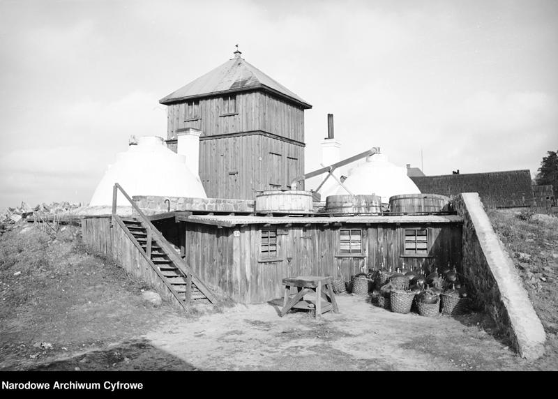 Obiekt Smolarnia koło wsi Stoczek. z jednostki Białowieża