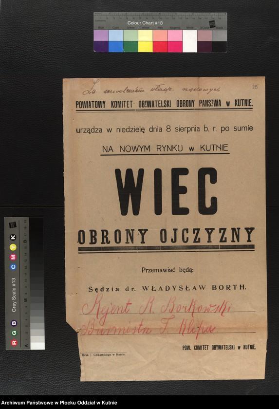 """Obraz 11 z kolekcji """"plakaty z wojny polsko-bolszewickiej"""""""