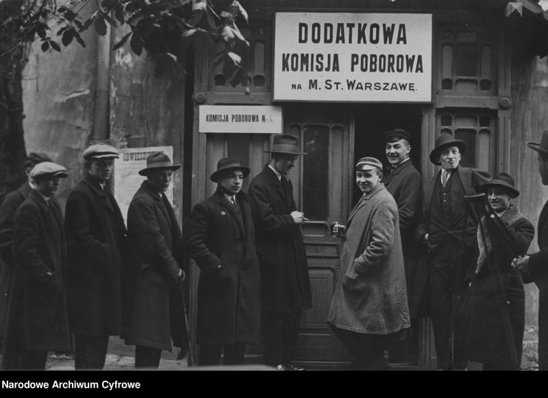 """Obraz 1 z jednostki """"Dodatkowa Komisja Poborowa w Warszawie"""""""
