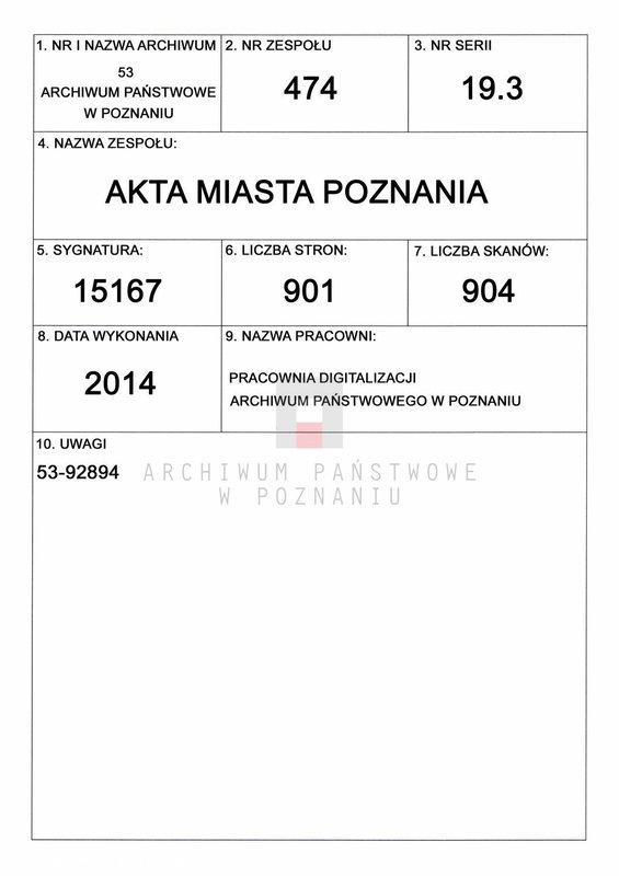 """Obraz 1 z jednostki """"Tabacka - Tadrańska"""""""