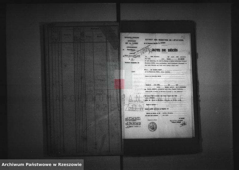 """Obraz z zespołu """"Akta stanu cywilnego Parafii Rzymskokatolickiej w Łętowni"""""""
