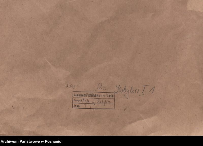 """Obraz z jednostki """"Or. - Mikołaj, wojewoda kaliski, oddaje za zasługi Henczy prawo lokowania miasta Wenecji na prawie niemieckim, nadaje dwa wolne łany przed miastem i dwa łany we wsi Kobylinie, określa prawa i obowiązki Henczy jako wójta tudzież mieszkańców."""""""
