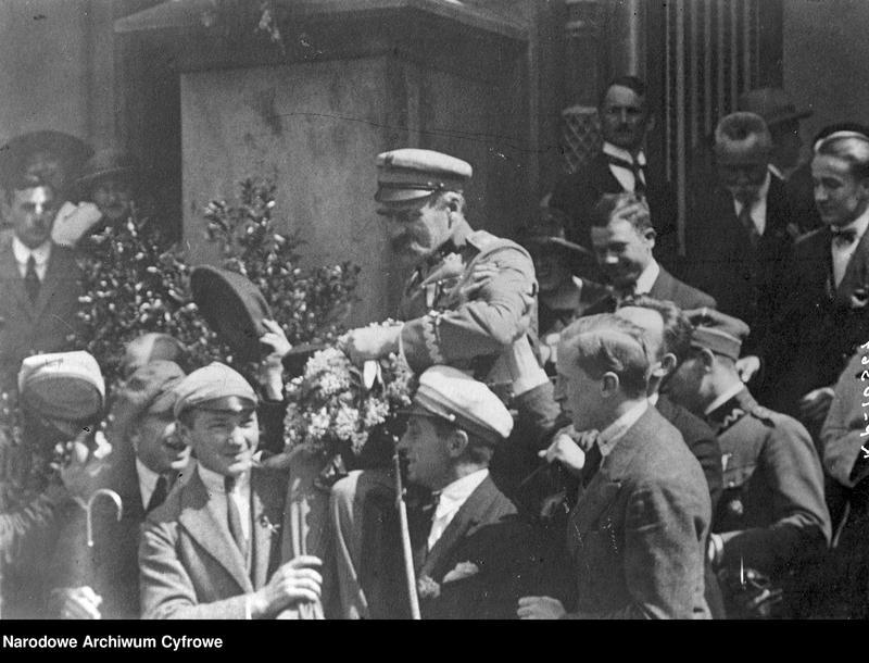 """Obraz 1 z jednostki """"Pobyt Józefa Piłsudskiego w Krakowie"""""""
