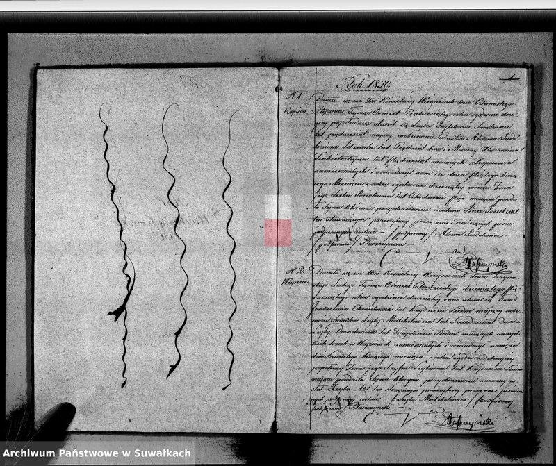 """image.from.unit """"Duplikat Akt Urodzonych, zmarłych i Zaślubionych Wyznania Mojżeszowego Okręgu Weysieie w roku 1850"""""""