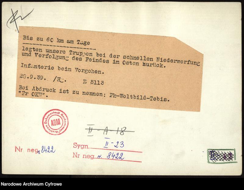 """Obraz 1 z jednostki """"Przeprawa piechoty niemieckiej przez rzekę"""""""
