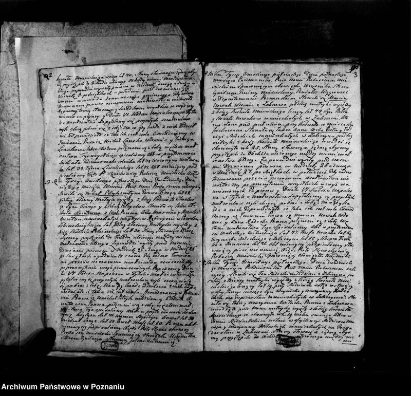"""Obraz z jednostki """"Księga urodzeń, małżeństw i zgonów"""""""