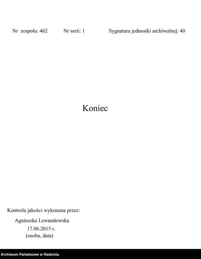 """Obraz 3 z jednostki """"[Duplikat akt urodzonych, zaślubionych i zmarłych parafii Lipsko za 1914 r.]"""""""
