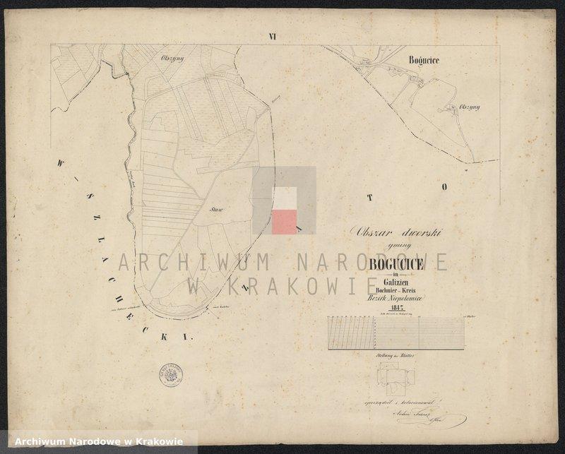 """Obraz 8 z jednostki """"Bogucice in Galizien Bochnier Kreis Bezirk Niepołomice"""""""