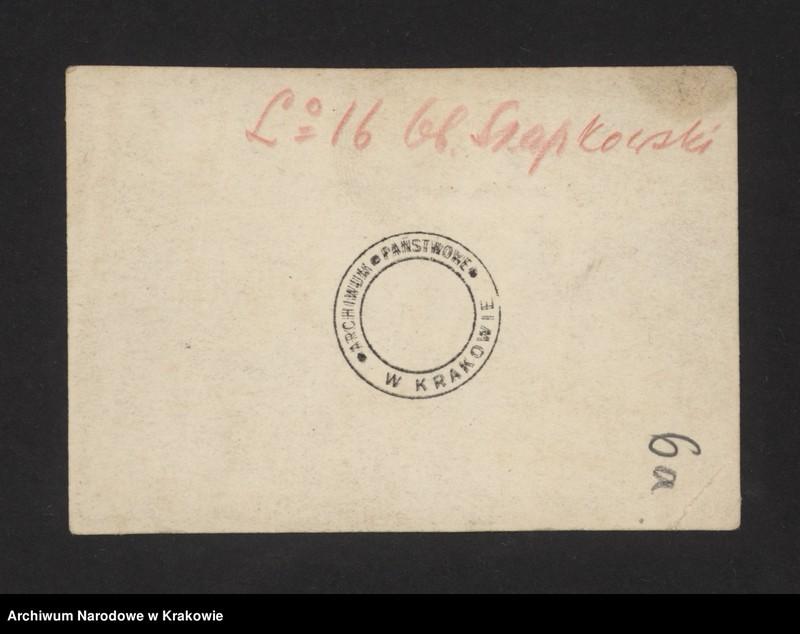 """Obraz 12 z jednostki """"Pocztówki legionowe, zaproszenia i programy, znaczki, nalepki."""""""