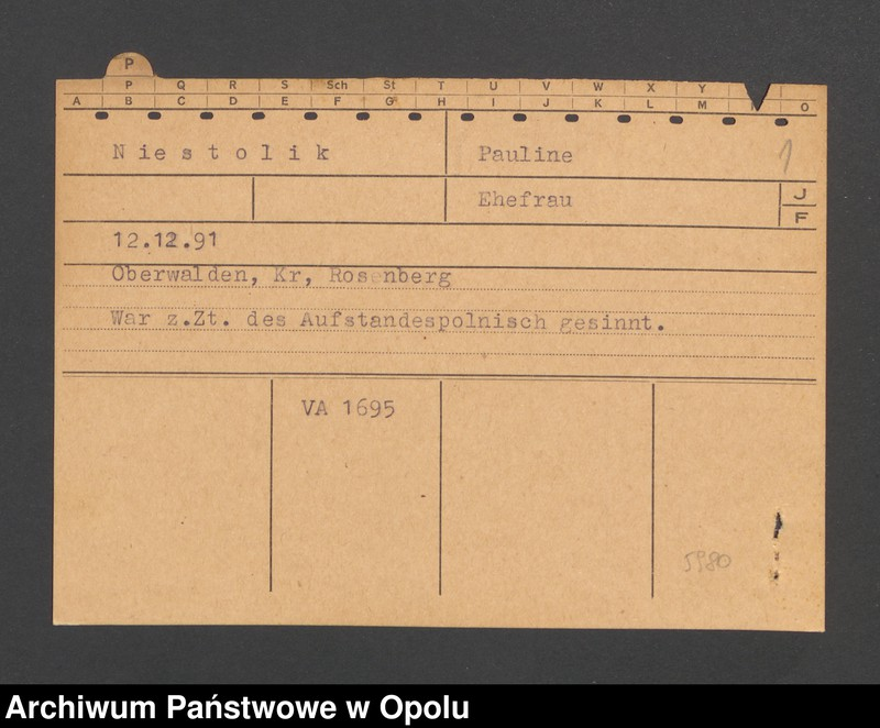 "Obraz 3 z jednostki ""[Niestolik Pauline, ur. 12.12.1891, zam. Oberwalden]"""