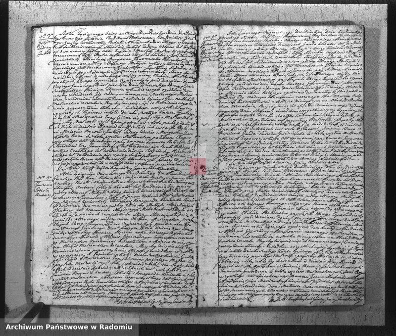 """Obraz z jednostki """"Duplikat Parafij Cerekiew z roku 1820"""""""