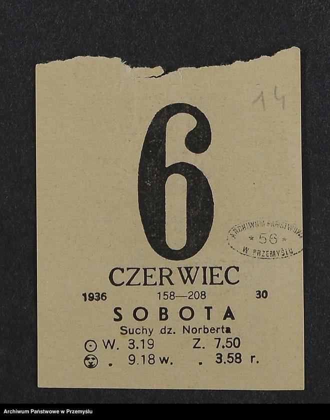 """Obraz 6 z kolekcji """"Kartka kalendarza - przepisy kulinarne"""""""