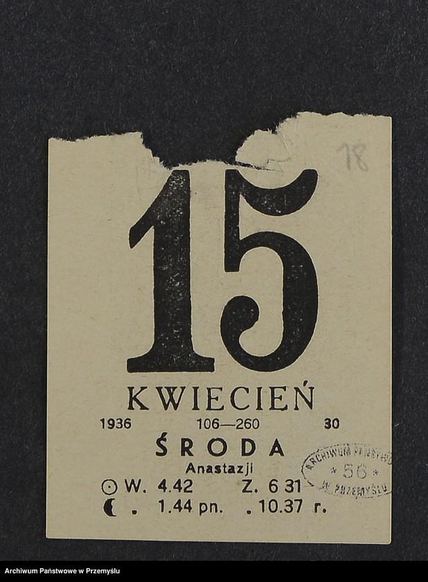 """Obraz 10 z kolekcji """"Kartka kalendarza - przepisy kulinarne"""""""