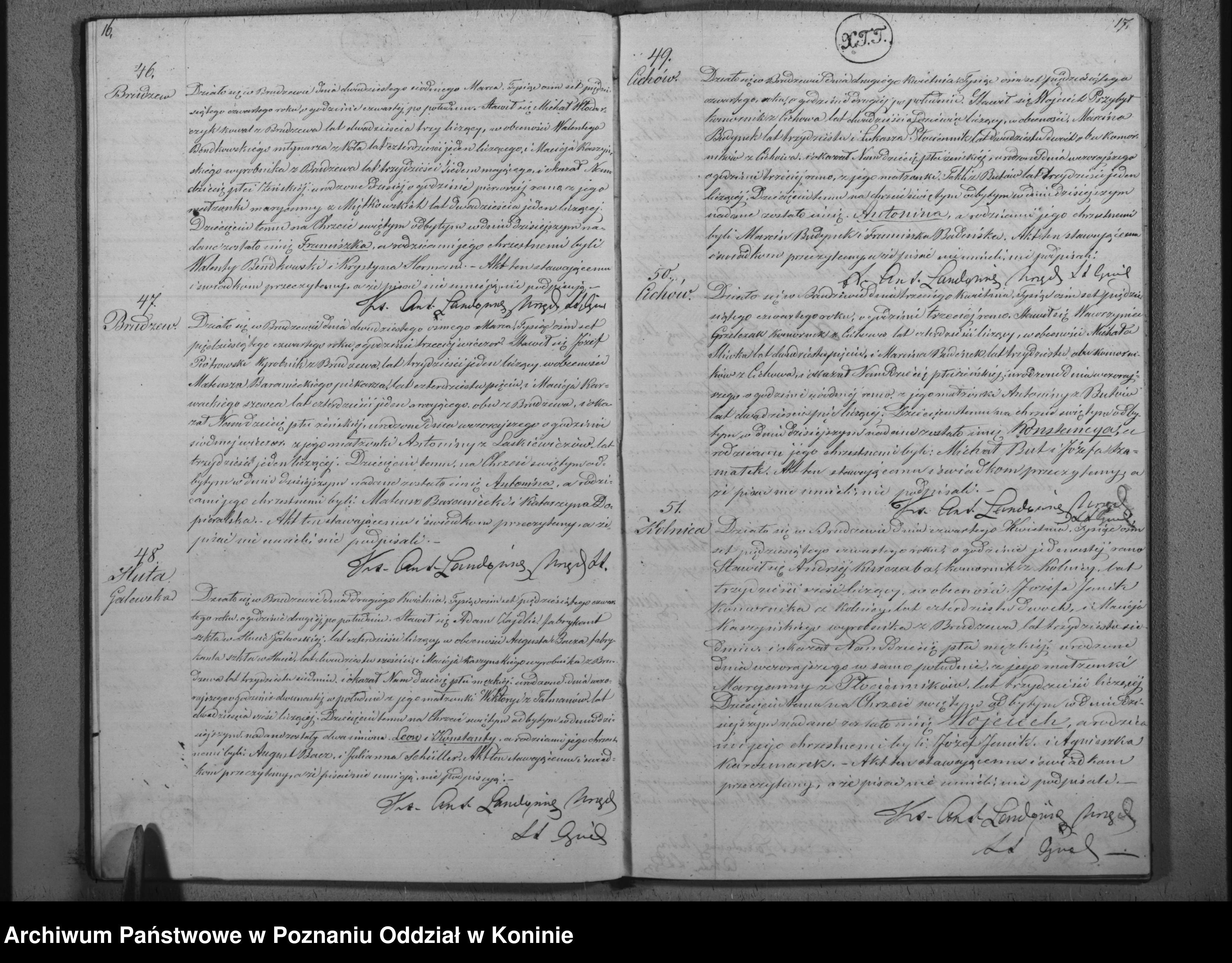 Skan z jednostki: Duplikat urodzonych, małżeństw i zgonów