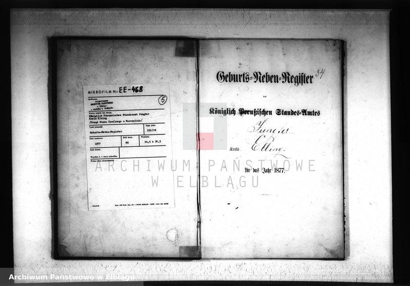 """image.from.unit """"Księga urodzeń 1877 rok"""""""